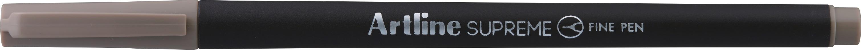 Liner Artline Supreme, varf fetru 0.4mm - maro pastel