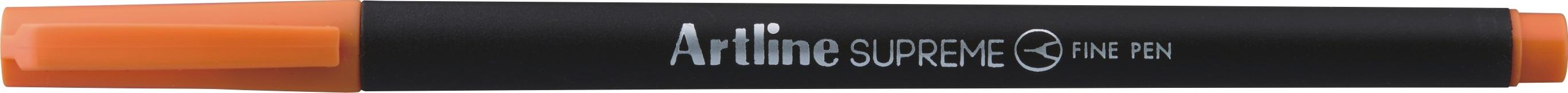 Liner Artline Supreme, varf fetru 0.4mm - orange inchis