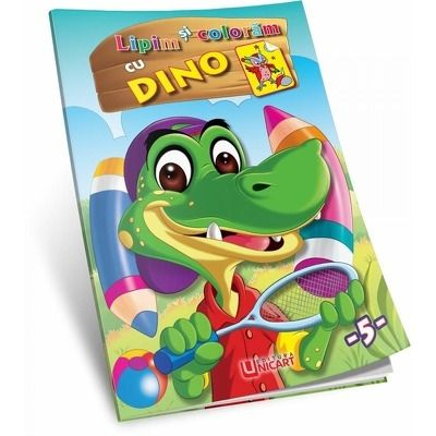 Lipim si coloram - Dino