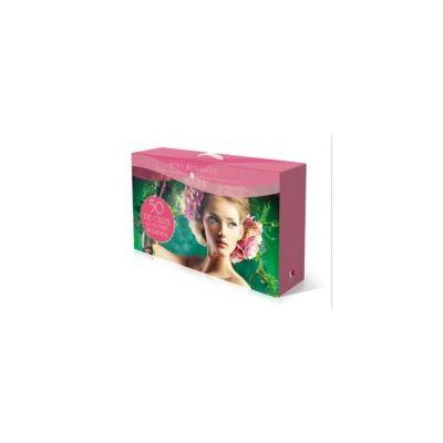 Cutie cadou carti romantice (50 de volume)