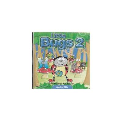 Little Bugs 2. Class Audio CDs (Contine 2 cd-uri)