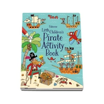 Little childrens pirate activity book