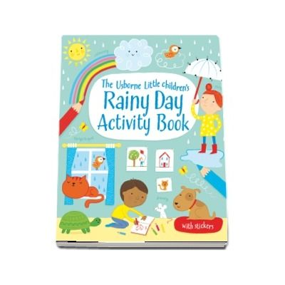 Little childrens rainy day activity book