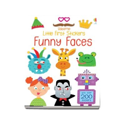 Little first stickers funny faces