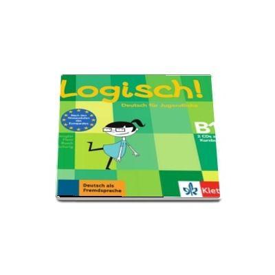 Logisch! (B1) Deutsch fur Jugendliche, 2 Audio-CDs zum Kursbuch - Format CD