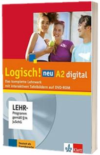Logisch! neu A2 Deutsch fur Jugendliche Lehrwerk digital mit interaktiven Tafelbildern, DVD-ROM