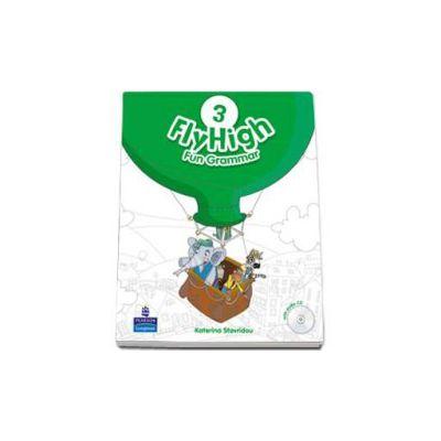 Curs de limba engleza Fly High level 3 Fun Grammar pupils book and CD pack