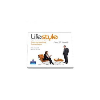 Lifestyle Pre-Itermediate class CD (2 CDs)
