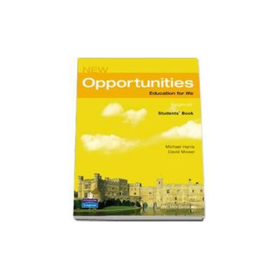 New Opportunities Beginner Students Book - Harris Michael