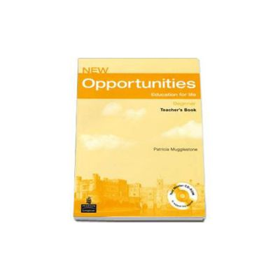 New Opportunities Beginner Teachers Book Pack - CD