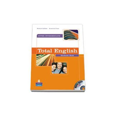 Total English Upper-Intermediate Students Book with DVD - Richard Acklam
