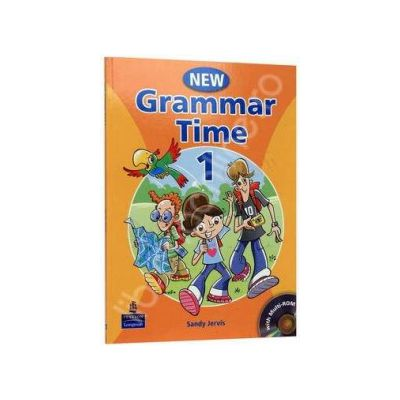 New Grammar Time 1. Students Book, with multi-ROM