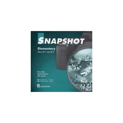 Snapshot Elementary Class Audio CD 1-2