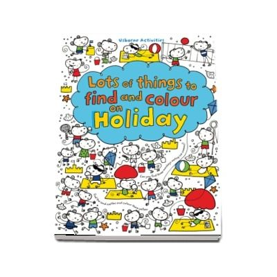 Lots of things to find and colour on holiday