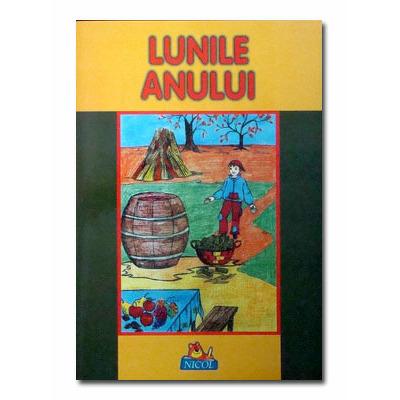 LUNILE ANULUI - Carte ilustrata de colorat