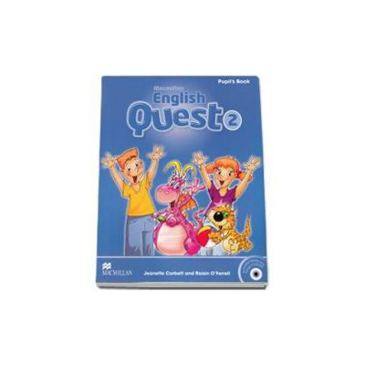 English Quest Level 2 - Pupils Book Pack (Animated Stories and Songs CD-ROM)