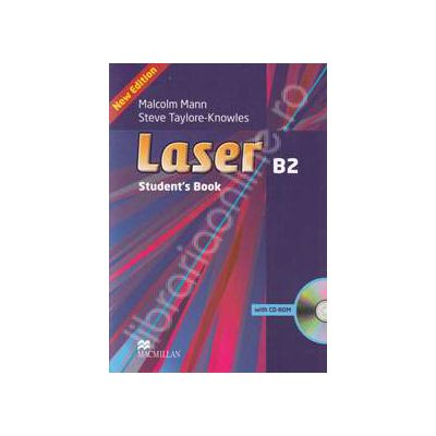 Laser Students Book with CD-rom (B2)