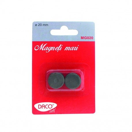 Magneti mari, 20mm, set 10, Daco