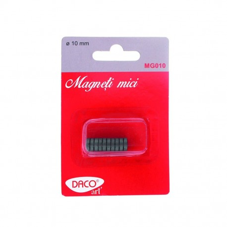 Magneti mici, 10mm, set 10, Daco