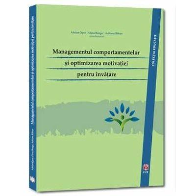 Managementul comportamentelor si optimizarea motivatiei pentru invatare