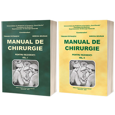 Manual de chirurgie pentru rezidenti, Volumele I si II