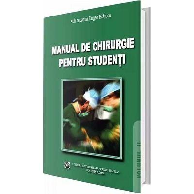 Manual de chirurgie pentru studenti. Volumul II