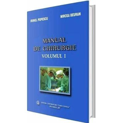 Manual de chirurgie. Volumul I