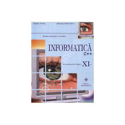 Manual de informatica clasa a XI-a, C++