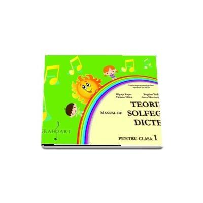 Manual de Teorie, Solfegiu, Dicteu pentru clasa I