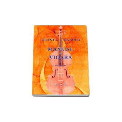 Manual de vioara, Volumul IV