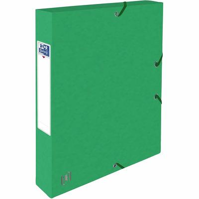 Mapa A4, carton MultiStrat 390g/mp, cu elastic, 40mm latime, Top File - verde