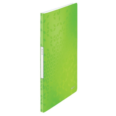 Mapa de prezentare Leitz WOW, coperta moale, PP, A4, 20 de folii, verde