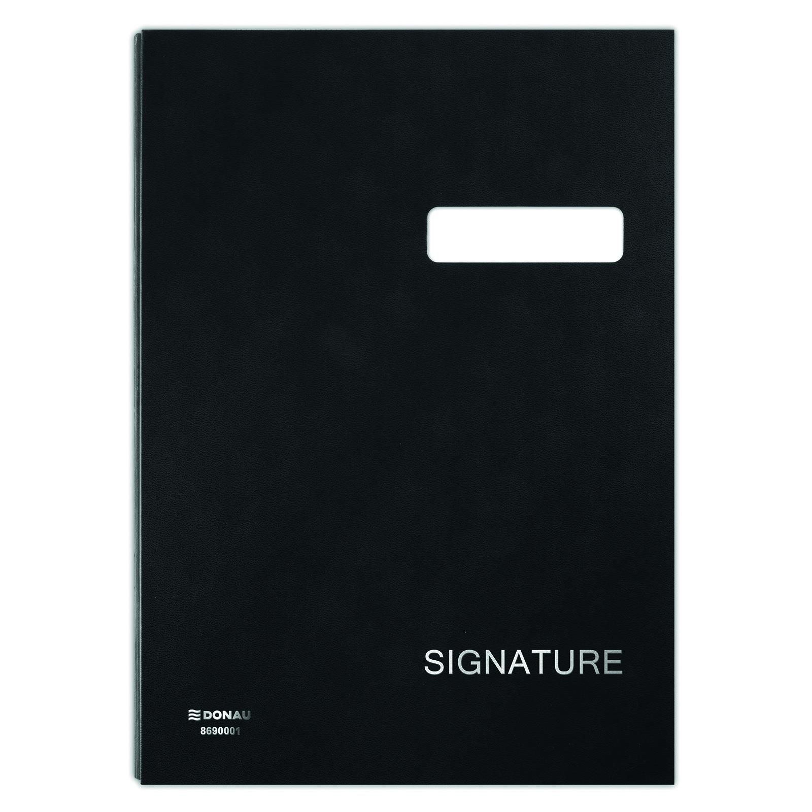 Mapa pentru semnaturi 20 file, Donau - negru
