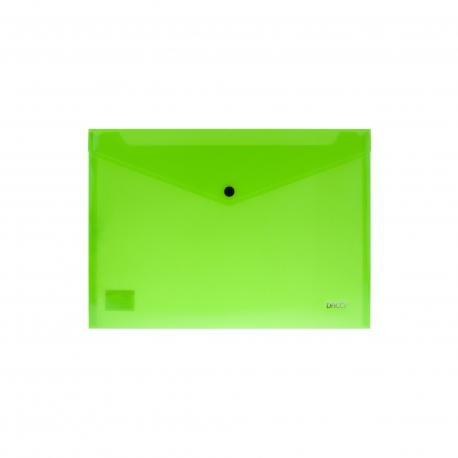 Mapa plastic plic cu capsa A4 DACO MP120NV