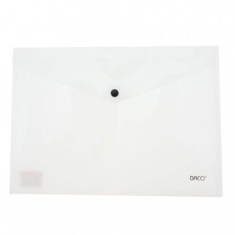 Mapa plastic plic cu capsa A4 Daco MP120W