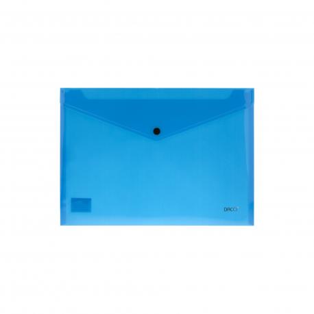 Mapa plastic plic cu capsa A4 DACO