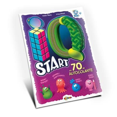 Marea carte de colorat. IQ start 2 plus