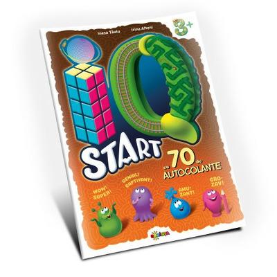 Marea carte de colorat. IQ start, 3 ani