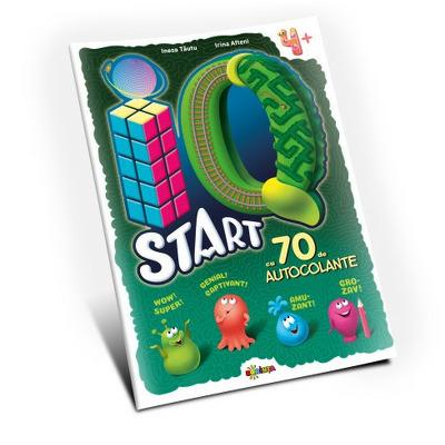 Marea carte de colorat. IQ start, 4 ani