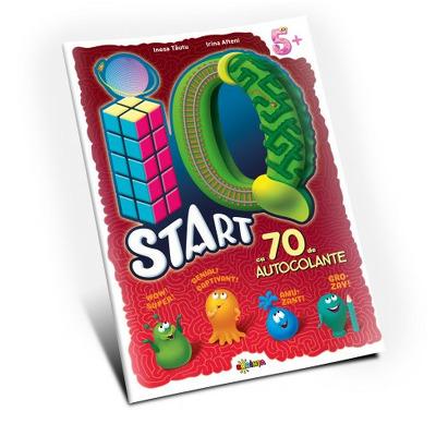 Marea carte de colorat. IQ start, 5 ani