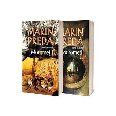 Marin Preda - Seria de autor - Morometii. Volumele I si II (Editia 2017)