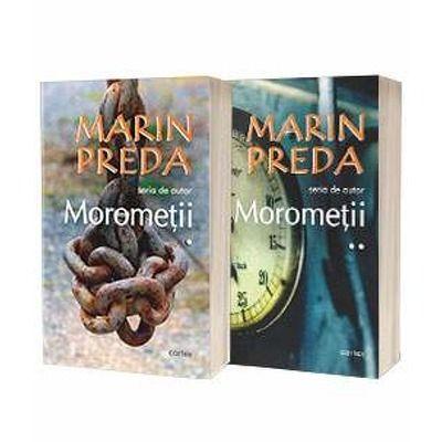 Marin Preda - Seria de autor - Morometii. Volumele I si II (Editia 2019)