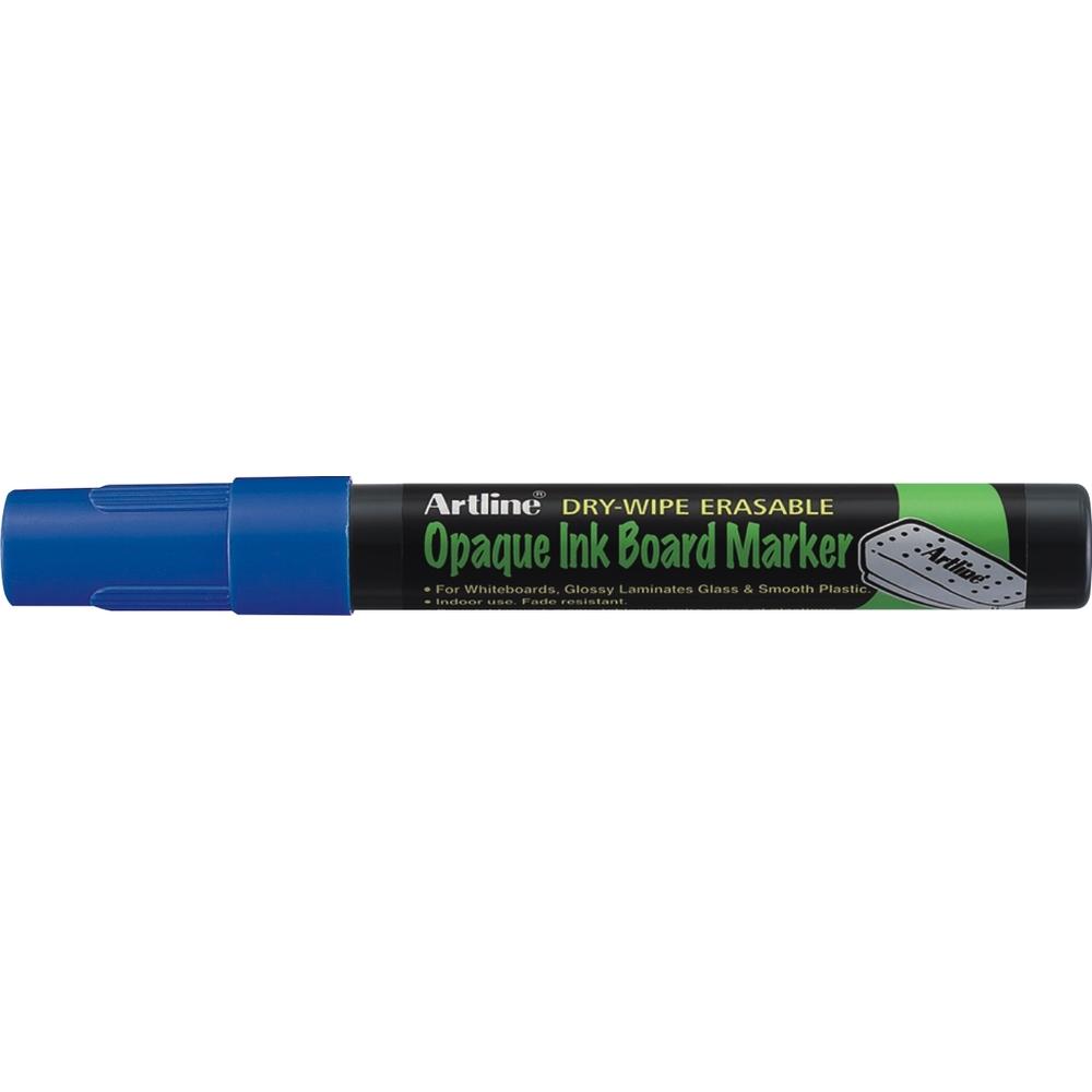 Marker cu cerneala opaca, ARTLINE, pentru table de scris, varf 2.0mm - albastru