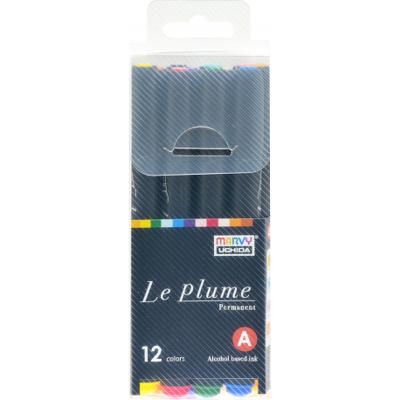 Marker grafic Le Plume set 12