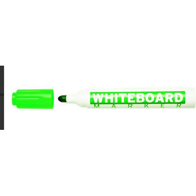 Marker pentru table de scris, varf rotund, corp plastic, Molin - verde