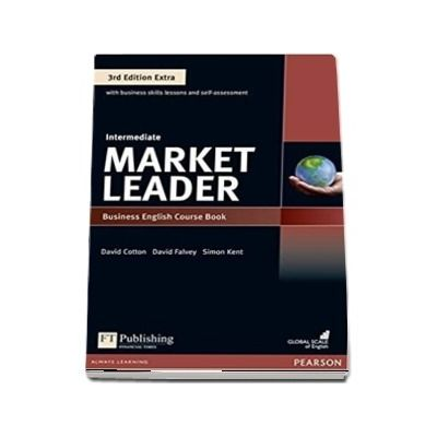 Market Leader 3rd Edition Extra Intermediate level Coursebook and DVD-Rom pack - David Cotton