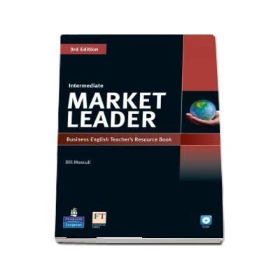 Market Leader 3rd Edition Intermediate Level Teachers Resource Book-Test Master CD-Rom Pack - Bill Mascull