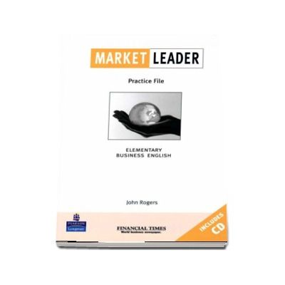 Market Leader Elementary Practice File Book and CD Pack  - Rogers John