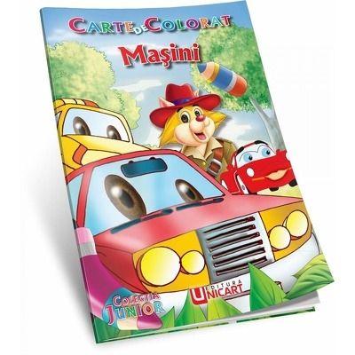 Masini. Carte de colorat