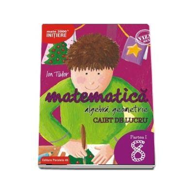 Matematica 2000, Initiere. Algebra, geometrie. Caiet de lucru, pentru clasa a VIII-a. partea I. Editia a II-a revizuita si adaugita